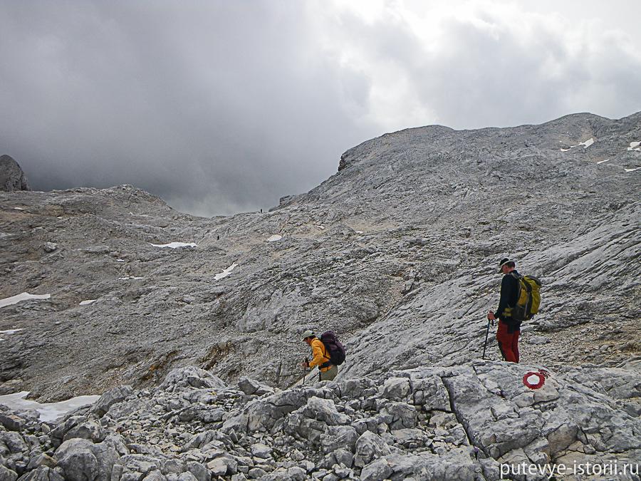 поход Альпы парк Триглав