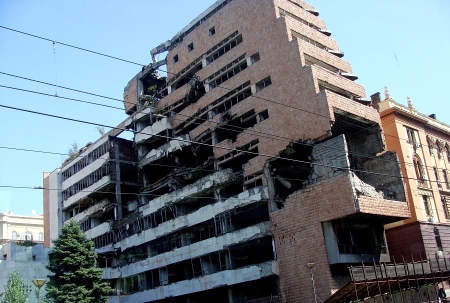 белград руины генштаба