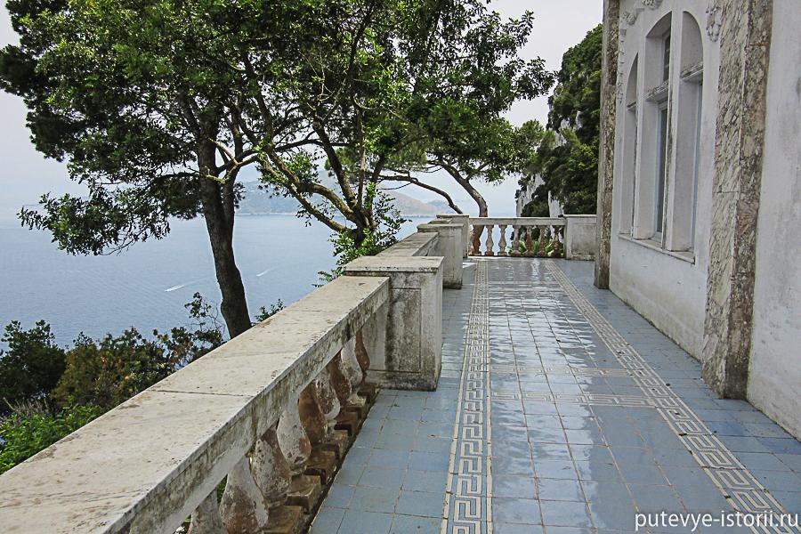 остров капри вилла лисис