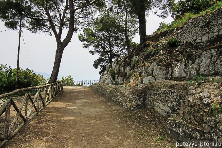 остров капри вилла тиберия