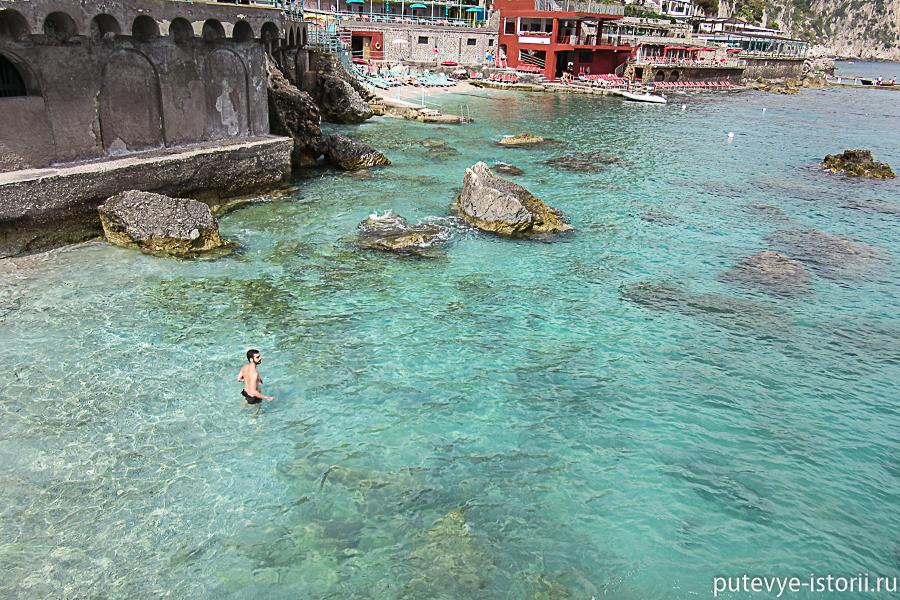 остров капри фото