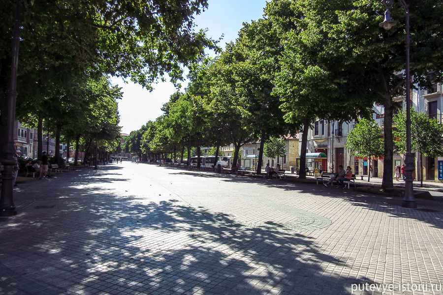 памплона улица Сарасате