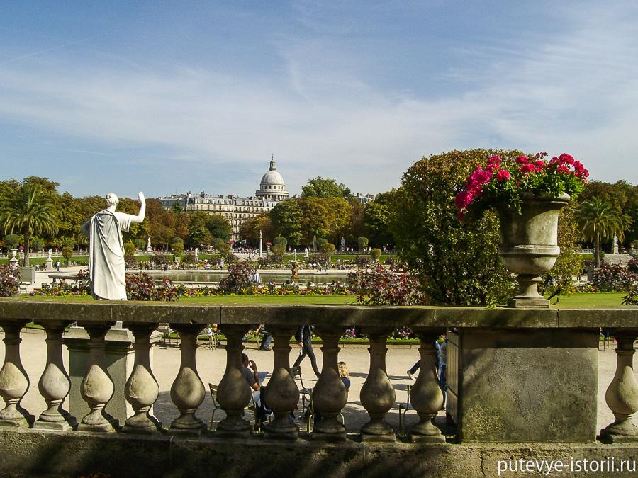 люксембургский сад париж