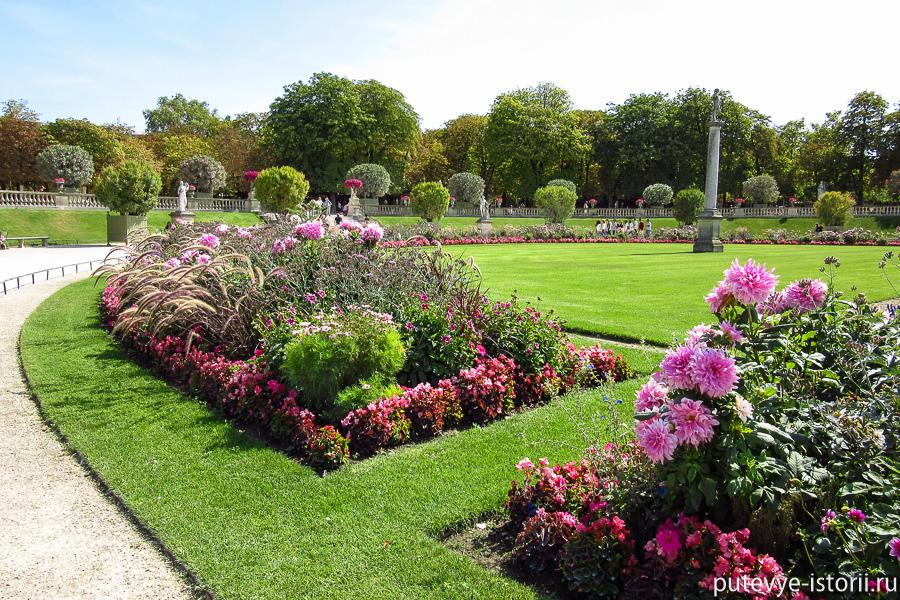 париж люксембургский сад