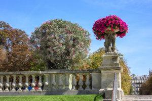 Люксембургский сад. Флорентийский след в Париже