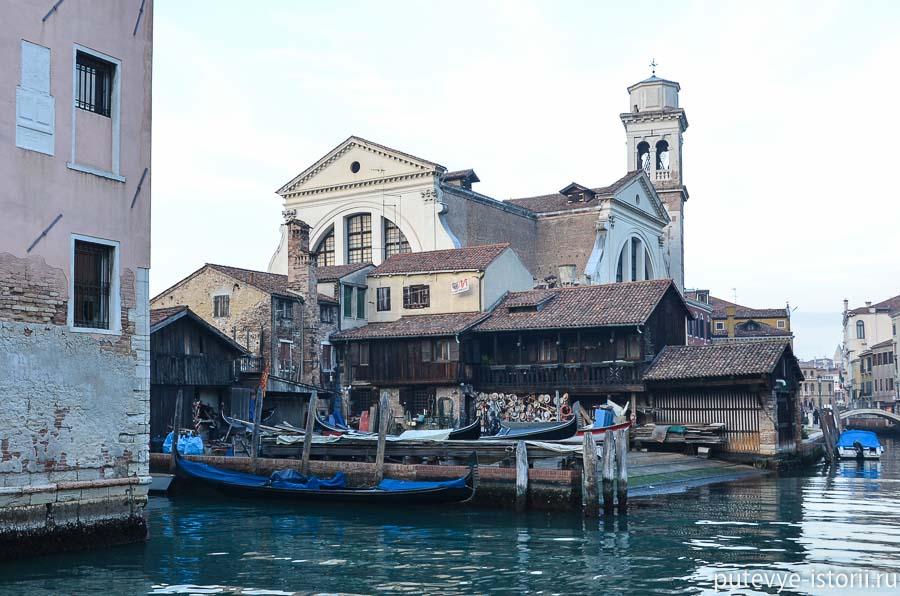 церкви венеции сан-тровазо
