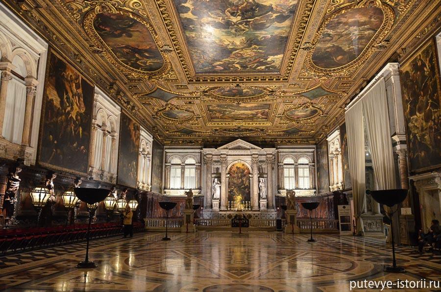 Венеция библиотека Марчиана