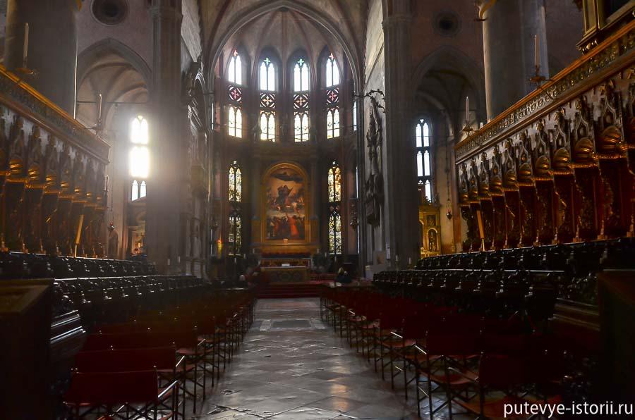 церкви венеции Фрари