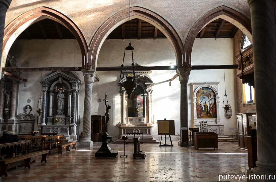 церкви венеции мадонна дель орто