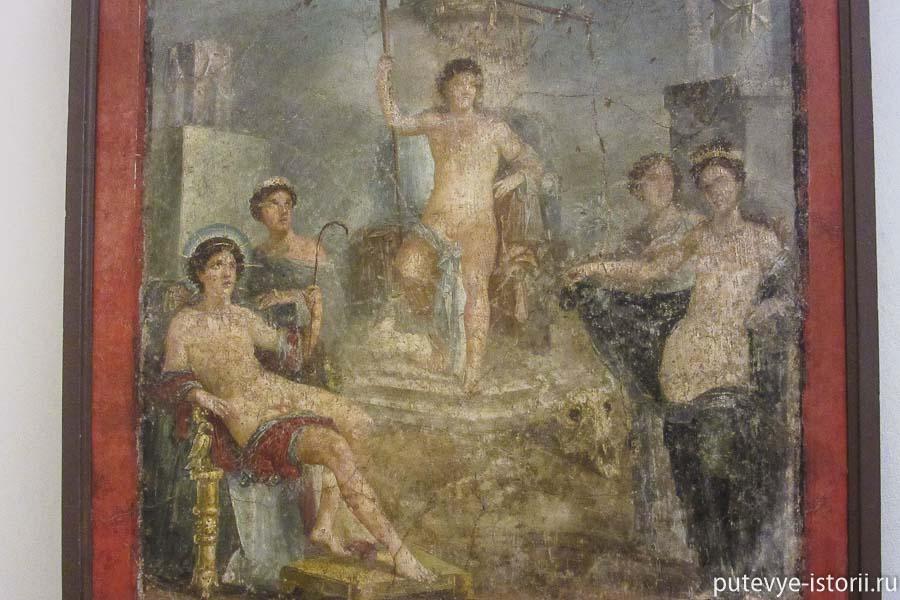фрески помпей