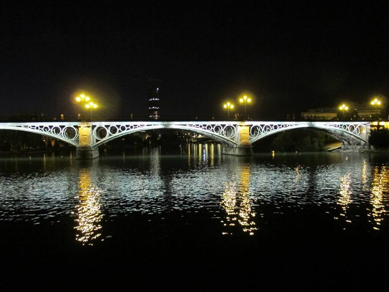 Севилья достопримечательности Мост Изабель II