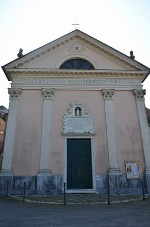 Полуостров Портофино. Церковь в Руте