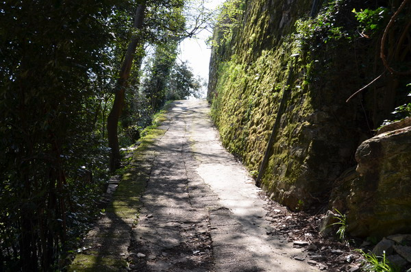 Тропа в национальный парк в Портофино