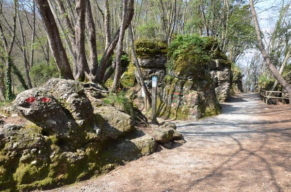 Парк Портофино. Pietri stretti