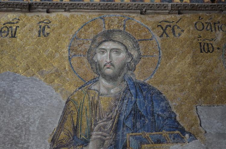 Стамбул Храм Святой Софии мозаики