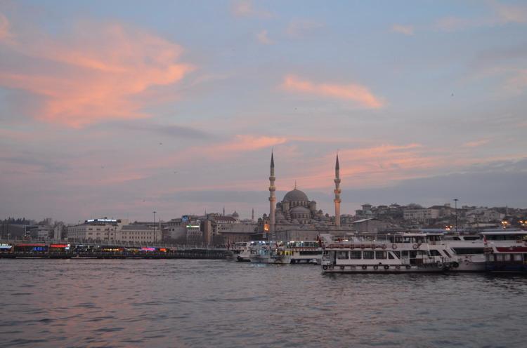 Стамбул Золотой Рог