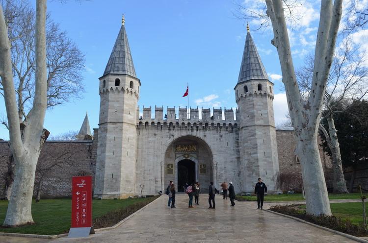 Стамбул дворец Топкапы