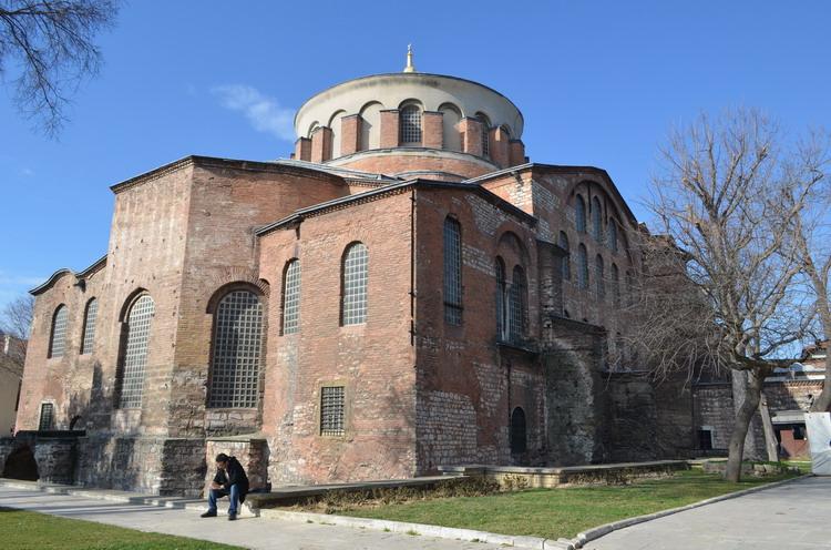 Стамбул храм Святой Ирины