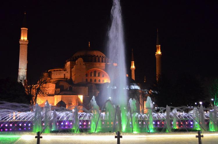 Стамбул храм святой Софии