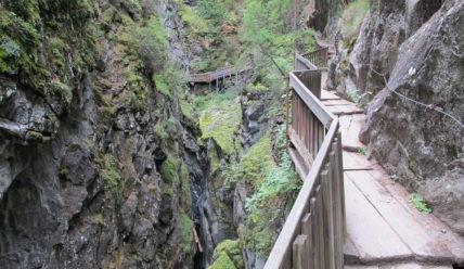 Прогулки в окрестностях Церматта, каньон Горнершлюхт- Gorner Gorge
