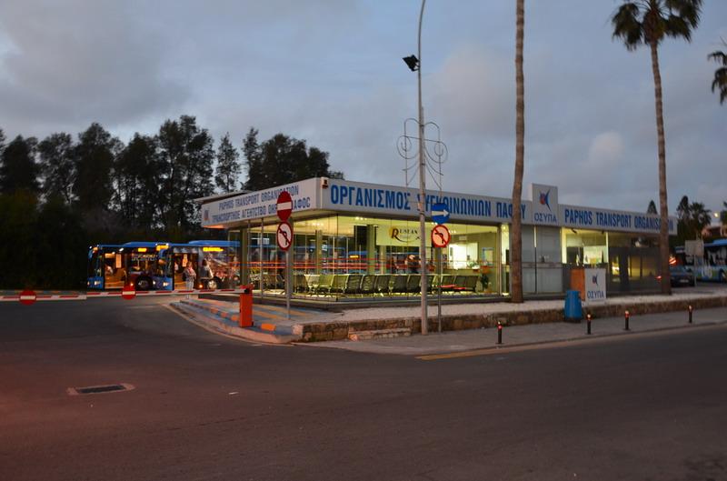 Пафос, автостанция Harbour