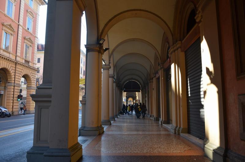 Болонья аркады