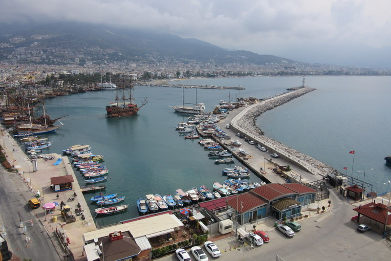 Аланья порт