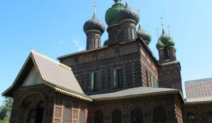 Толгский монастырь, храм Иоанна Предтечи в Толчкове и Карабиха