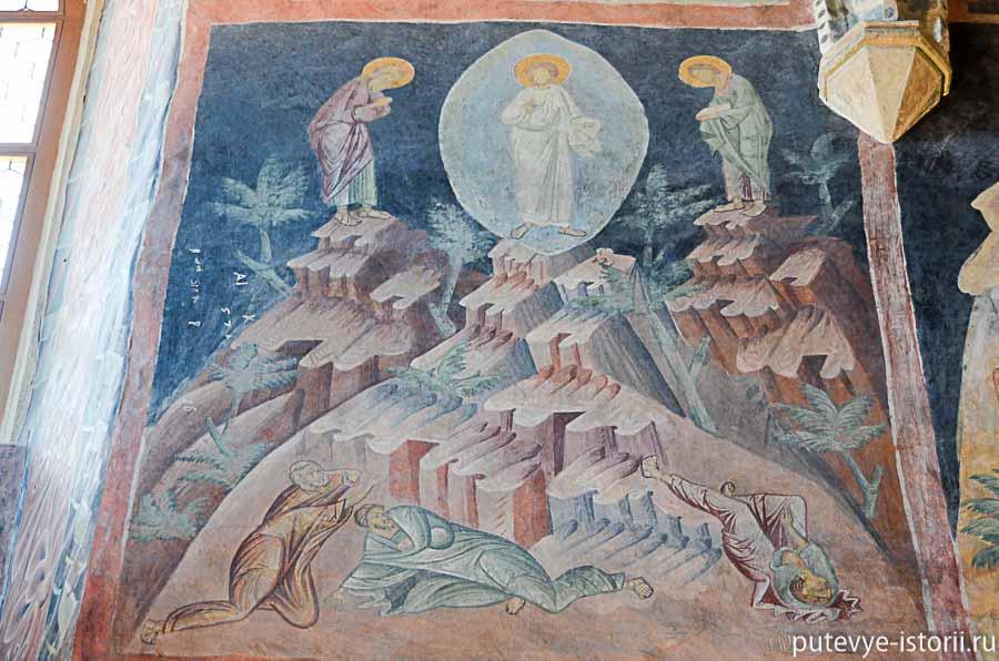 люблин фрески капелла саятой троицы