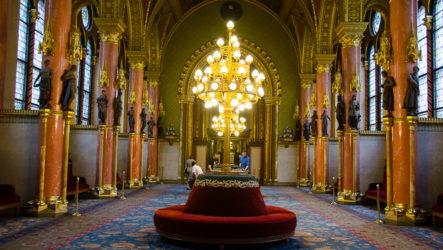 Экскурсия в венгерский Парламент в Будапеште