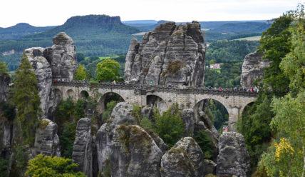 Скалы Бастай, Саксонская Швейцария