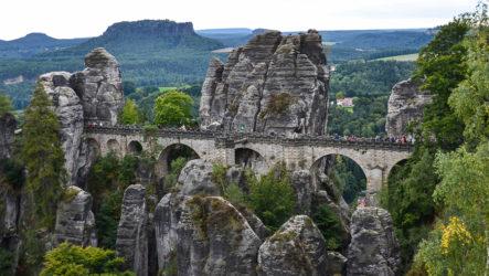 Саксонская Швейцария, Бастайские скалы