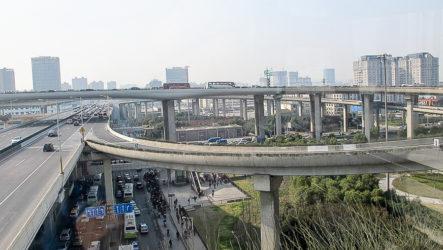 Китайские дороги и транспорт