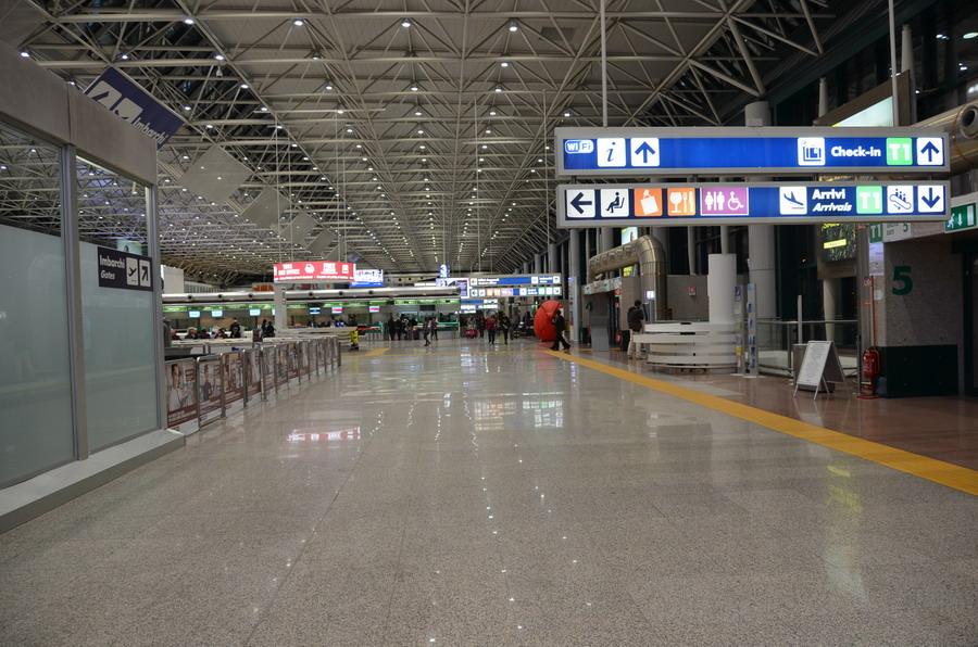 Аэропорт Фьюмичино Как добраться в Рим схема терминалов развилка на карте фото и описание