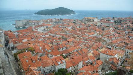 Дубровник, Старый город. Прогулка по крепостной стене