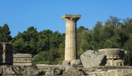 Катаколон и древняя Олимпия