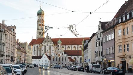 Аугсбург, столица Швабии