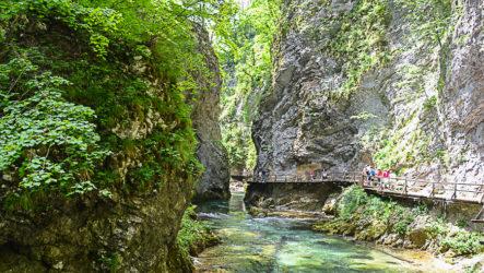 Ущелье Винтгар, каньон в Юлийских Альпах
