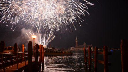 Празднование Нового года в Венеции