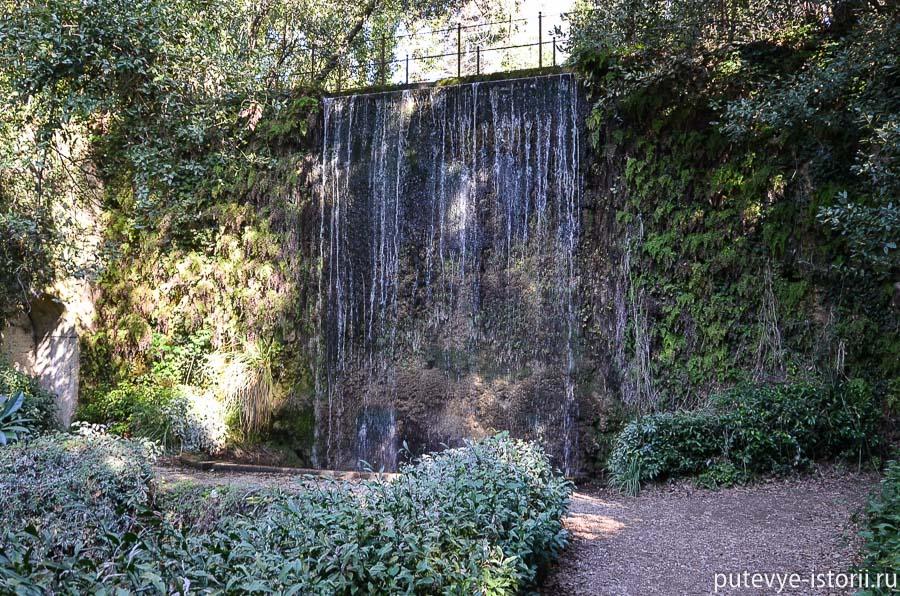 казерта английский сад