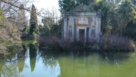 Казерта, Английский сад