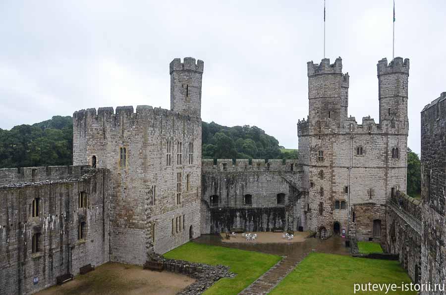уэльс замок Карнарвон