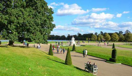 Лондон в октябре. Золотая осень в столице Британии