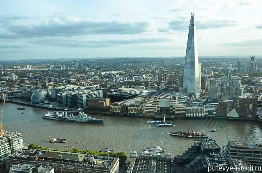 осколок шард лондон