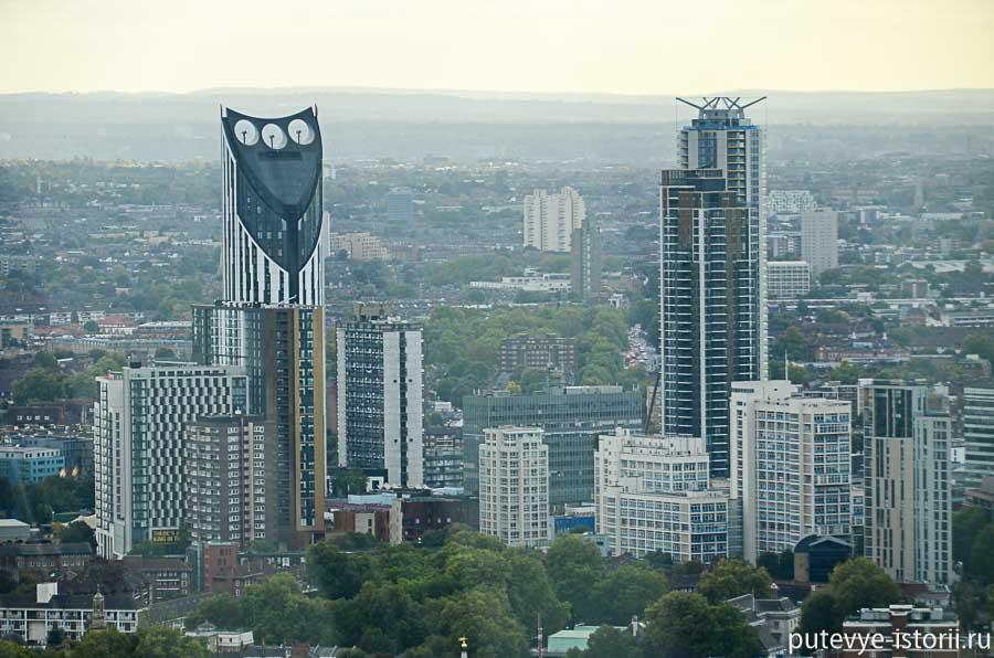 небоскребы лондон