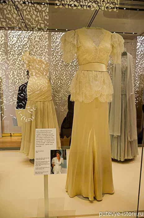 платья принцессы Дианы