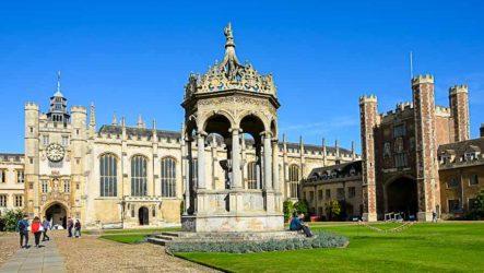 Город Кембридж. Университет и его колледжи