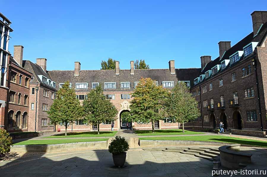 кембридж колледжи