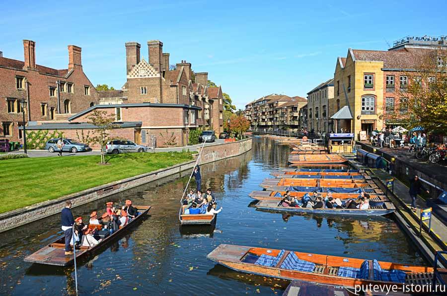 кембридж экскурсии на лодках