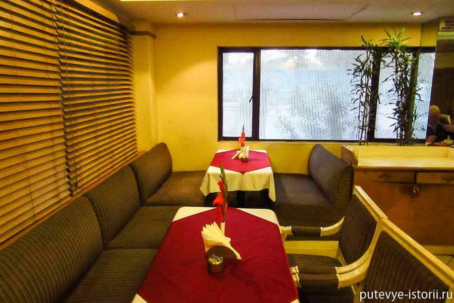 И именно в этом отеле завтрак по системе «шведский стол» был самый разнообразный.